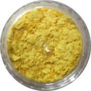 Inlace Inlay Stone Flakes  1pc 3 Gram Jar of  Sunshine Yellow - Wood Acrylic Supply