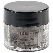 Pearl Ex Powdered Pigments (1) 3 Gram 637 DARK BROWN by Jacquard