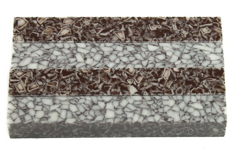 "Granite Pebble Acrylic Pen Blank 3/4""x3/4""x5"" BTWPBM1021 (1 pc) - Wood Acrylic Supply"