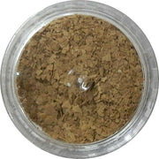 Inlace Inlay Stone Flakes  1pc 3 Gram Jar of  Coco - Wood Acrylic Supply