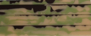 "Faded Camo BTW46KSS Acrylic (2 pc) Knife Scale 3/16"" x 1 1/2"" x 6"" - Wood Acrylic Supply"