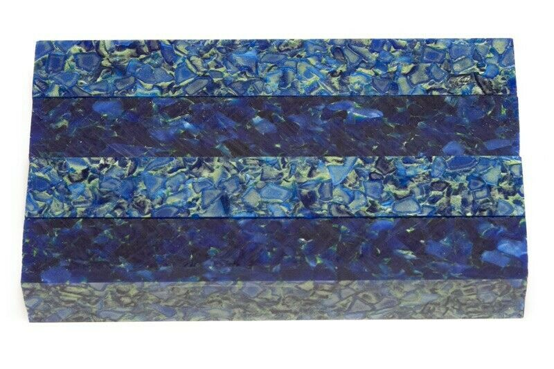 "Lapis Nugget Acrylic Pen Blank 3/4""x3/4""x5"" BTWPBM1002 (1 pc) - Wood Acrylic Supply"