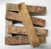 "Chechen Burl (1 pc) Pen Blank 3/4""sq x 5"" - (23) - Wood Acrylic Supply"