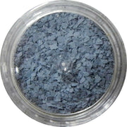 Inlace Inlay Stone Flakes  1pc 3 Gram Jar of  Washed Denim - Wood Acrylic Supply