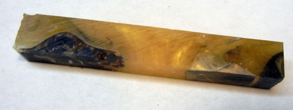 "Alumilit Stabilized Buckeye Burl (1 pc) Pen Blank 3/4""sq x 5"" - 1986"