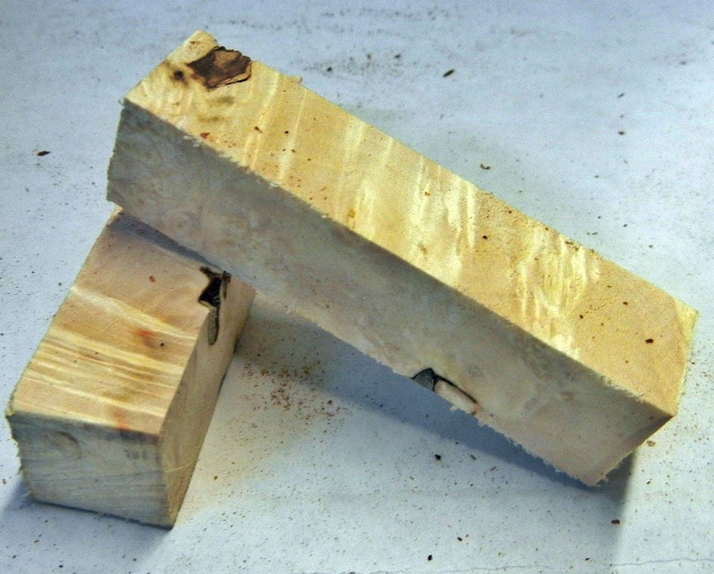 "Box Elder Burl (1 pc) Pen Blank Short 3/4""sq x 2 3/4"" 5640"