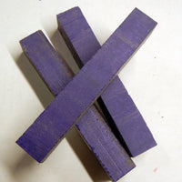 "Solid Purple Inlace Acrylester sc8 (1 pc) Pen Blank 3/4""sq x 5"" - 2329"