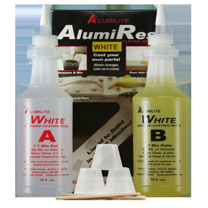 Alumilite White Casting Resin 32 OZ RM - Wood Acrylic Supply