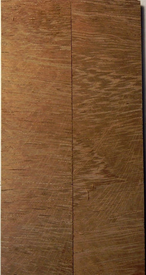 "Teak Cross Cut (2 pc) Knife Scales 1/4"" x 1 1/2"" x 6"" - 0997 - Wood Acrylic Supply"