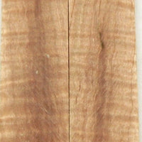 "Maple Hard Curly Stabilized (2 pc) Knife Scales 3/8"" x 1 1/4"" x 6"" - 2383"