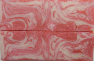 "Raspberry Parfait Acrylester #68 (2 pc) Knife Scales 1/4"" x 1 1/2"" x 5"" SKU 6726"