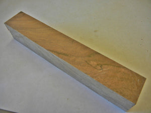 "Apple Figured (1 pc) Pen/Reel Blank 1""sq x 6"" 6389"