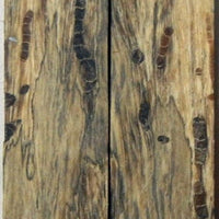 "Tamarind Spalted/Stabilized (2 pc) Knife Scales 3/16"" x 3/4"" x 5"" - 0708 - Wood Acrylic Supply"