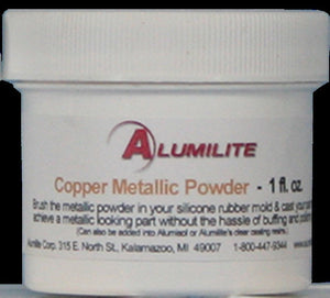 Alumilite Metallic Powder 1 FL OZ Copper
