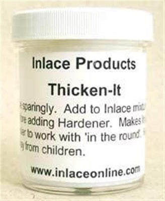 Inlace Inlay Thicken-It 4 Ounce Jar - Wood Acrylic Supply