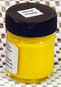Inlace Inlay Solid - Opaque Yellow Dye Color 1 Ounce Glass Jar 61008
