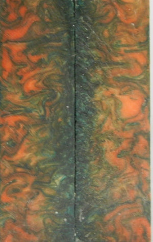 "Emerald City Acrylester #58 (2 pc) Knife Scales  3/8"" x 1 3/4"" x 6""    --1"