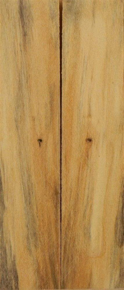 "Box Elder Stabilized 2 pc Mini Knife Scale  3/16""x1""x5""      SB1"