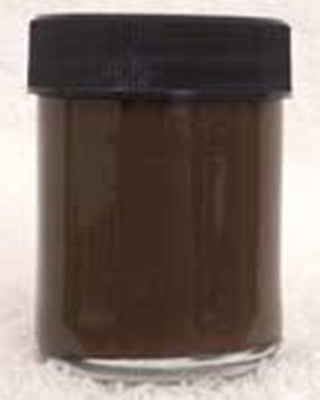 Inlace Inlay Solid - Opaque Brown Dye Color 1 Ounce Glass Jar 30004 - Wood Acrylic Supply