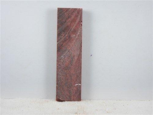 Red Russet Inlace Acrylester 09 1 pc Inlay/Thin 1/2 x 1 1/2 x 6 - Wood Acrylic Supply