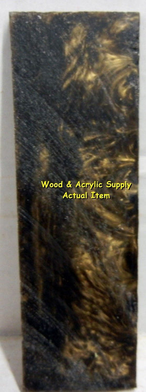Antique Gold Acrylester #34 (1 pc) Inlay/Thin 1/4x1 1/2x5 5409