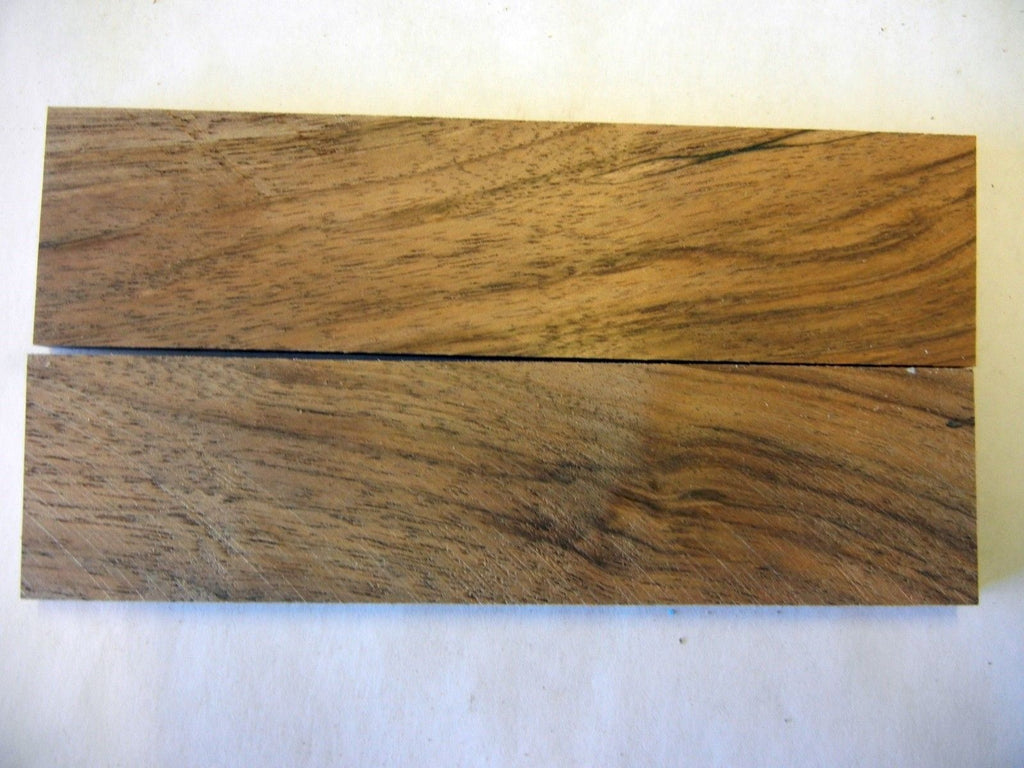 "Apple Figured (2 pc) Knife Scales 1/4"" x 1 1/2"" x 6"" 6398"