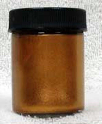 Inlace Inlay Metallic Dyes 1 Ounce Glass Jar Bronze 60003