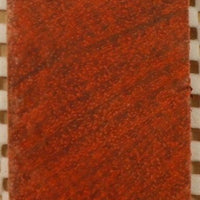 "Padauk Cross Cut (1 pc) Knife Blank 1""x1 1/2""x5""    5CC"