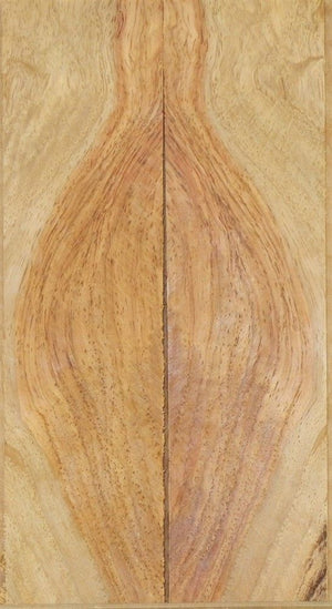"Rosewood Honduran Burl Swirly (2 pc) Knife Scale  1/4""x1 1/2""x6""      703"