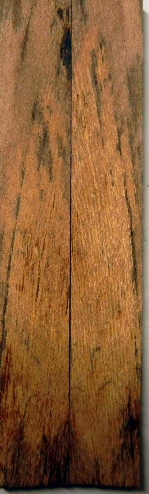 "Locust Spalted/Stabilized (2 pc) Knife Scales 3/16"" x 3/4"" x 5"" - 0913"