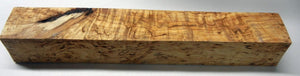 "Birch Karelian Masur (1 pc) Turning 1 3/4""sq x 12"" - 1812"