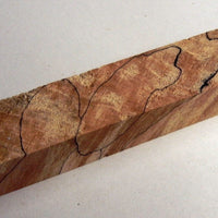 "Maple Soft Spalted Extreme (1 pc) Pen/Reel Blank 1""sq x 5"" - 0710"