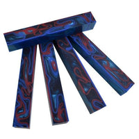 "Fire & Ice Acrylic. #52 pc Pen Blank Short 3/4"" x 2 7/8"" - 3 7/8"" - Wood Acrylic Supply"