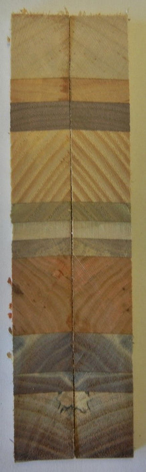 "Laminated Desert Colors (2 pc) Knife Scales 3/16"" x 3/4"" x 6"" - 7750"