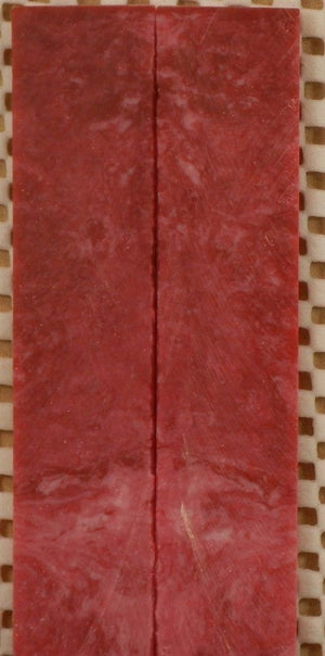 "Indiana University Inlace Acrylester (2 pc) Mini Knife Scale  3/16""x1""x5""    001"