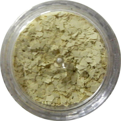 Inlace Inlay Stone Flakes  1pc 3 Gram Jar of  Vanillo Yellow - Wood Acrylic Supply