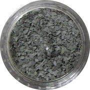 Inlace Inlay Stone Flakes  1pc 3 Gram Jar of  Grey Fox - Wood Acrylic Supply