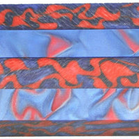 "Superman Acrylic Pen Blank 3/4""x3/4""x5"" BTWPBM1135 (1 pc) - Wood Acrylic Supply"