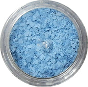 Inlace Inlay Stone Flakes  1pc 3 Gram Jar of  Baby Blue - Wood Acrylic Supply