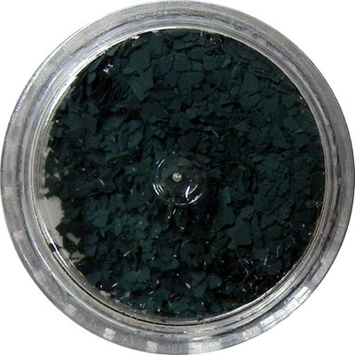 Inlace Inlay Stone Flakes  1pc 3 Gram Jar of  Deep Woods Green - Wood Acrylic Supply