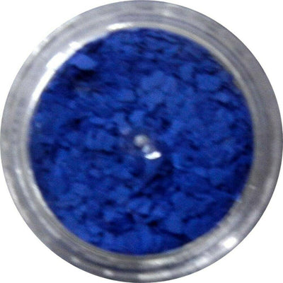 Inlace Inlay Stone Flakes  1pc 3 Gram Jar of  Electro Blue - Wood Acrylic Supply