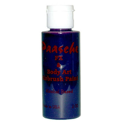 1 Ounce Temporary Tattoo Ink Purple TI-110 Paasche - Wood Acrylic Supply