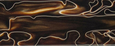 Copper Swirl BTW34KB Acrylic Knife Blank 1