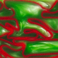 "Holly Berry BTW61KSM Acrylic (2 pc) Knife Scales 1/4"" x 1 1/2"" x 6"" Holly Berry BTW61KSM - Wood Acrylic Supply"