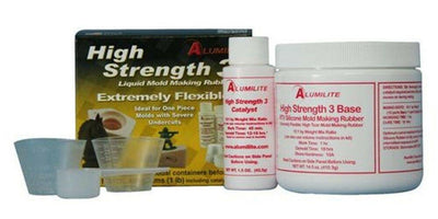 Alumilite's High Strength 3 silicone mold making rubber 1 lb