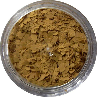 Inlace Inlay Stone Flakes  1pc 3 Gram Jar of  Mustard - Wood Acrylic Supply