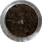 Inlace Inlay Stone Flakes  1pc 3 Gram Jar of  Dark Chocolate - Wood Acrylic Supply
