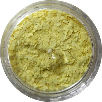 Inlace Inlay Stone Flakes  1pc 3 Gram Jar of  Lemon Ice - Wood Acrylic Supply