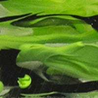 "Duck Weed Mist BTW42KSL Acrylic (2 pc) Knife Scale 3/8"" x 1 1/2"" x 6"" - Wood Acrylic Supply"