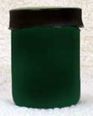 Inlace Inlay Solid - Opaque Green Dye Color 1 Ounce Glass Jar 61003 - Wood Acrylic Supply